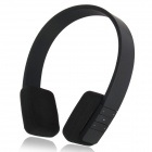 H1 Bluetooth V2.1 + EDR Stereo Headset w/ Microphone + Volume Adjustment + Answer Call - Black