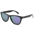 OREKA S1082 Retro UV400 Polarized Sunglasses - Black