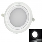 Cnlight CN-0000TDP02013C-001 6'' 13W 800lm 6000K White Light Ceiling Lamp - White (110~240V)