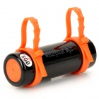 T-02 Swimming Diving Waterproof MP3 Player w/ FM Radio + Earphone - Black + Orange (8GB)