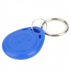 Door Access Control ID Card Keychain - Blue (5 PCS)