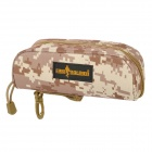 Free Soldier Convenient Outdoor Water Resisting Oxford Fabric Carrying Case for Glasses - Camouflage