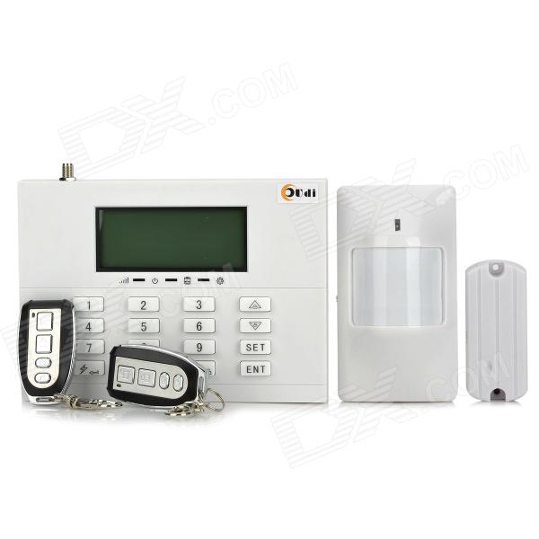 AD-8088-GXCG2 GSM 3 LCD Touch Keypad Wireless Home Alarm System - White 1set safe armed hot selling gsm alarm system wired wireless 433mhz russian english voice prompt built in relay support