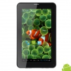 "SW W2 7"" LCD Android 4.0.4 Tablet PC w/ 512MB RAM / 4GB ROM / SIM / G-Sensor - White + Black"
