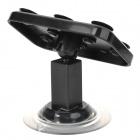 JX1019-360 360 Degree Rotatable Multifunction Desktop Suction Cup Holder for Cell Phone - Black