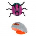 3:1 Delicate IR Remote Control Mini Wall Climber Spider Model Toy - Purple + Black + Grey + Orange