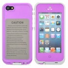 IPEGA Ultra-Slim ABS Water Resistant Case for iPhone 5 - Purple