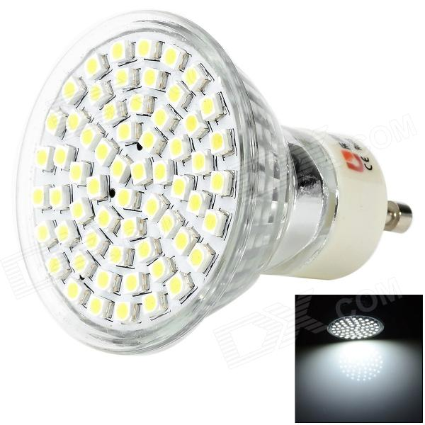 LEXING GU10 3W 160lm 60-3528 SMD LED White Light Spotlight (220~240V) lexing lx r7s 2 5w 410lm 7000k 12 5730 smd white light project lamp beige silver ac 85 265v