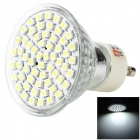 LEXING GU10 3W 160lm 60-3528 SMD LED White Light Spotlight (220~240V)
