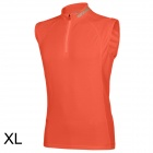 SPAKCT Stylish Sleeveless Cycling Jersey T-shirt - Orange (XL)