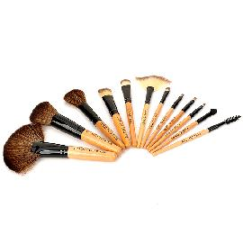 Coolflower Professional Portable Cosmetic Makeup Brushes (12 PCS)