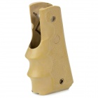 Plastic Hand Grip for 1911 Gun - Khaki