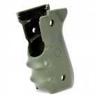 Plastic Hand Grip for M92 Gun - Army Green