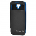 4200mAh Rechargeable Li-ion Polymer Battery Case w/ Smart Cover for Samsung Galaxy S4 i9500 - Black