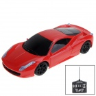 1:20 Maßstab 2-CH Wireless Remote Control R / C Car Racing - Rot (3 x AA)