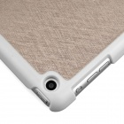 ENKAY ENK-3337 Protective PU Leather Case Stand for Ipad MINI - Light Golden