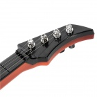 3705A-2 Child Practice 4 Strings Music Guitar - Black + White + Orange + Brown