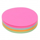 RHODIA Convenient Round Sticky Note Memo Pad - Deep Pink + Blue + Orange + Green (140-Sheet)