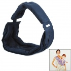 Doomagic Adjustable Comfortable Cotton Baby Carrier Sling - Deep Blue