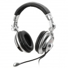 Cosonic CT-890 Super Bass Folding Headband Headphone / Headset w/ 3.5mm Plug - Silver