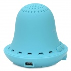 Nogo B2000 Wireless Bluetooth 3.0 Speaker w/ Microphone - Light Blue