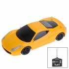 1:20 Scale 2-CH Wireless Remote Control R/C Racing Car - Yellow (3 x AA)