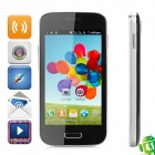 "BML 9500 Android 4.1 GSM Smart Phone w/ 4.0"" Capacitive Screen, Wi-Fi and Quad-Band - Black + Silver"