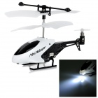 Ultra-Mini 3.5-CH IR-Fernbedienung ABS R / C Helicopter - White + Black