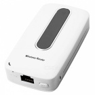 M10 3G 150Mbps Wi-Fi Router Supports SIM Card / Power Bank / Broadband Access / TF - White