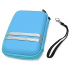 "G-COVER Protective EVA Nylon Bag for 5"" GPS Navigator - Blue + Silver"