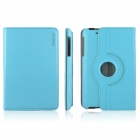 ENKAY ENK-7105 360' Rotation Protective PU Leather Case Cover Stand for Google Nexus 7 - Sky Blue