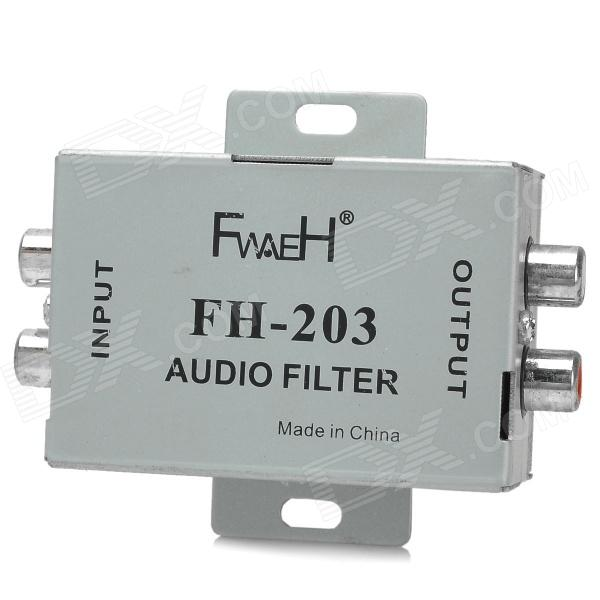 FH-203 Zinc Alloy Audio Filter (12V)