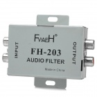 FH-203 Zink-Legierung Audio Filter (12V)