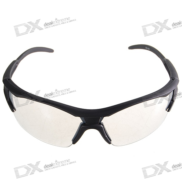 Cycling Bicycle Resin Lens Glasses with Carrying Pouch