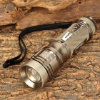 Assassin 828 CREE XM-L T6 350lm 5-mode White Light Zooming Flashlight - Brown (1 x 26650/18650)