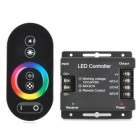 432W Wireless RGB LED Controller w/ Touch Remote Controller - Black (12~24V)
