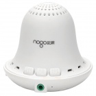 Nogo B2000 drahtlose Bluetooth V3.0 + EDR MP3 Speaker w / Mikrofon / Mini USB / 3,5 mm Klinke - Weiß