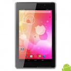 "GT-P8510 7"" Quad Core Android 4.2 Tablet PC w/ 1GB RAM / 8GB ROM / 2 x SIM / GPS - Grey + Black"