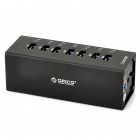 ORICO A3H7-BK High Speed 7-Port USB 3.0 Hub w/ LED Indicator - Black