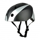 Winmax WME05701 Outdoor Sports Safety Skating Helmet - Black + Silver