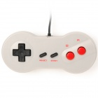 KD-02 USB Wired Gamepad for SNES / Super Famicom Style - Offwhite (170cm)
