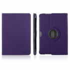 ENKAY ENK-7016 Cowboy Pattern 360' Rotation Protective PU Leather Case for Samsung P5100 - Purple