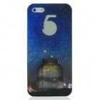 ENKAY ENK-6001A Firefly Pattern Protective Plastic Back Case for iPhone 5 - Multicolored