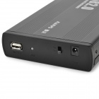 "MAIWO K3502-U2I Aluminum Alloy USB 2.0 IDE 3.5"" IDE HDD Enclosure Set - Black"