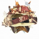 Outdoor Field Leaf Hunting / Shooting Ghillie Cap - Camouflage Yellow