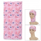 Outdoor Multifunction Polyester Sunproof Head Scarf - Pink