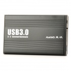 MAIWO K3502U3 Aluminum Alloy USB 3.0 3.5'' SATA HDD Enclosure - Black