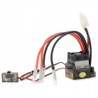 320A 4X Brush Speed Controller w/ Fan for R/C Car Boat (Support 6~16.8V)