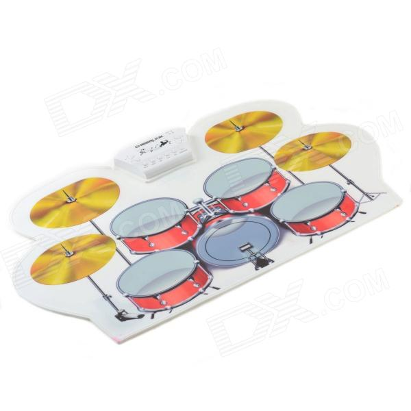 Cheerlink MD-1008 USB Portable Multifunctional Professional MIDI Electronic Drum - Multicolored
