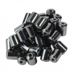 Cylinder Open Core Magnet - Black (50 PCS)